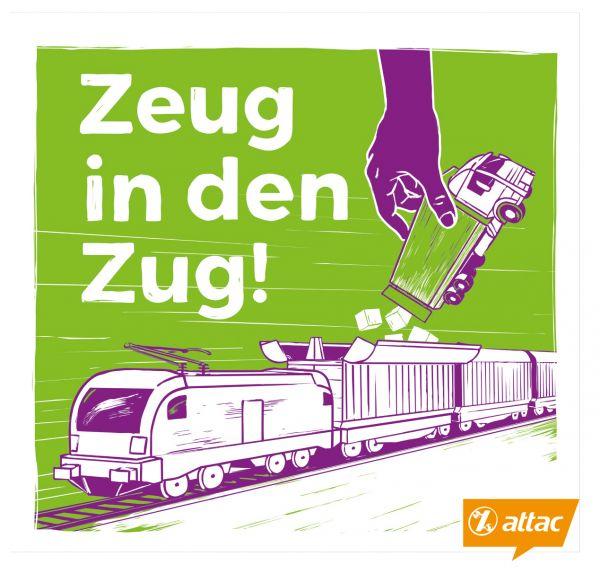 Flyer: Güterverkehr - einfach.umsteigen (Zeug in den Zug)