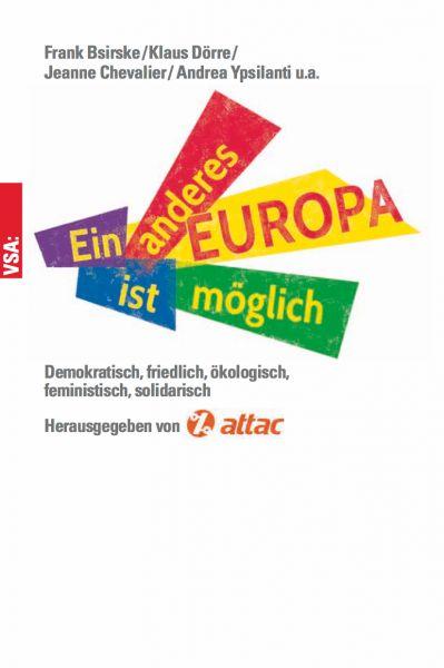 Buch zum Kongress: Ein anderes Europa...
