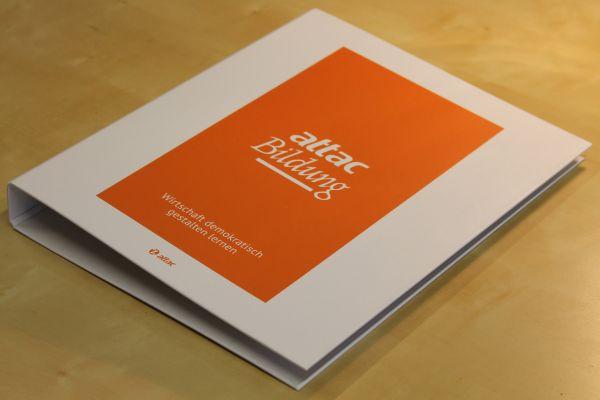 Sammelordner: Attac-Bildungsmaterial