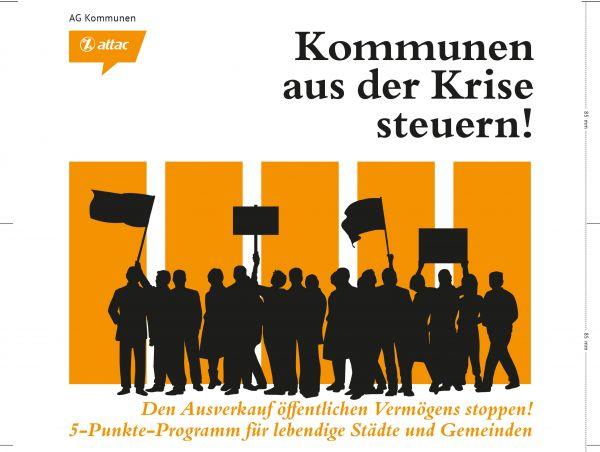 Faltblatt: Kommunen aus der Krise