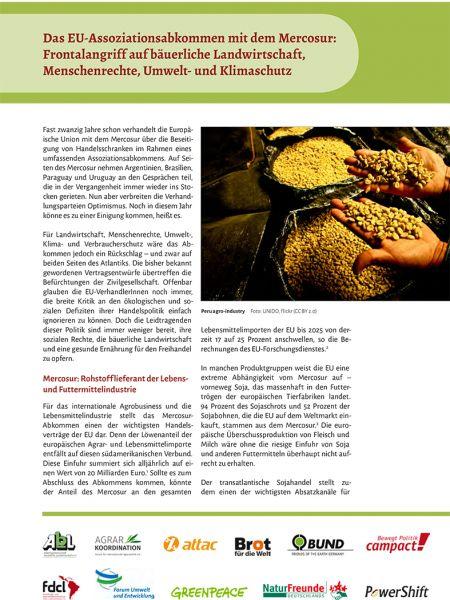 Infopapier: Mercosur