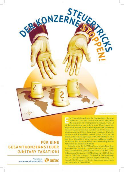 Faltblatt/Flyer: Gesamtkonzernsteuer