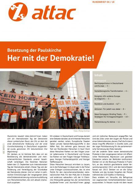 Rundbrief 2018/04: Her mit der Demokratie