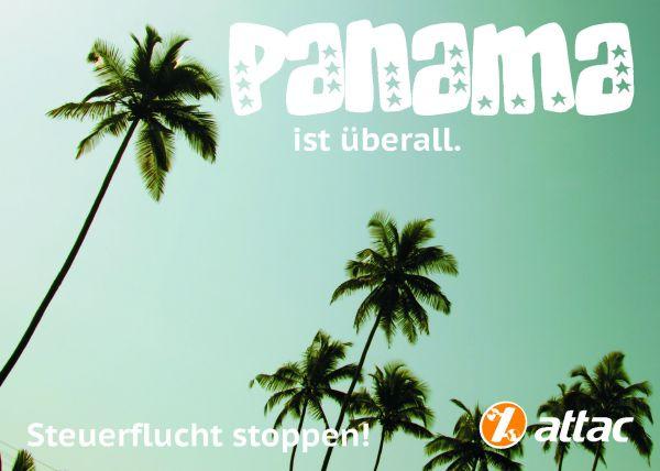 Postkarte: Panama ist überall