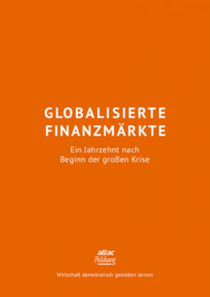 Bildungsmaterial: Globalisierte Finanzmärkte