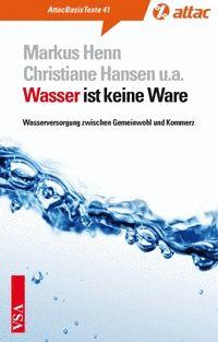Basistext 41: Wasser ist keine Ware