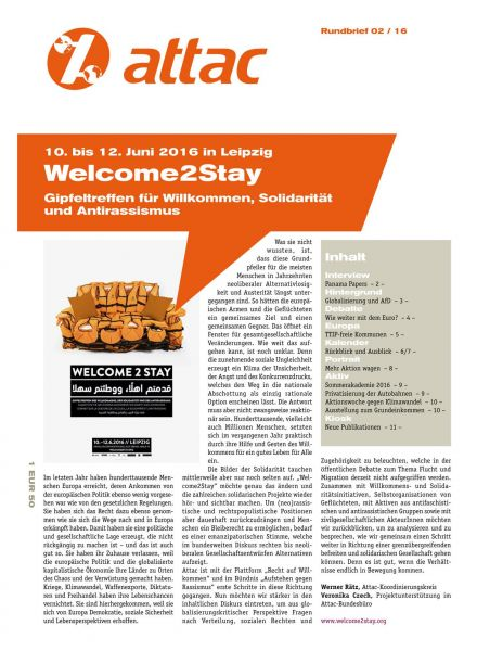 Rundbrief 2016/02 - Welcome2Stay
