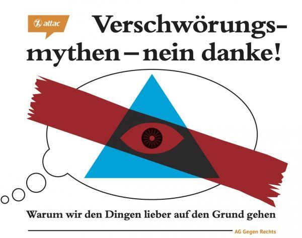"""Faltblatt """"Verschwörungsmythen"""""""