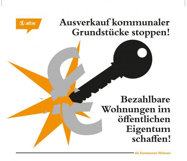 Faltblatt/Flyer: Bezahlbarer Wohnraum