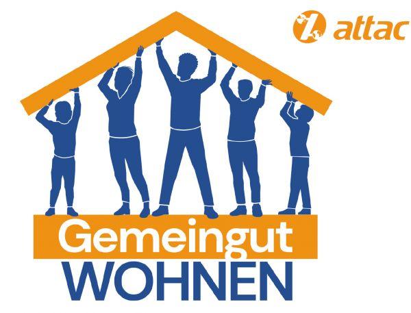 Flyer/Postkarte: Gemeingut Wohnen