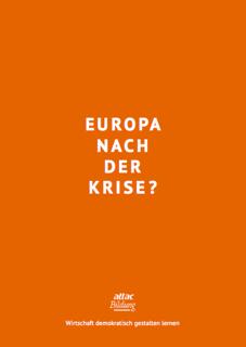 Bildungsmaterial: Europa nach der Krise