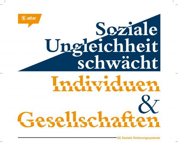 """Flyer: Soziale Ungleichheit schwächt"""""""