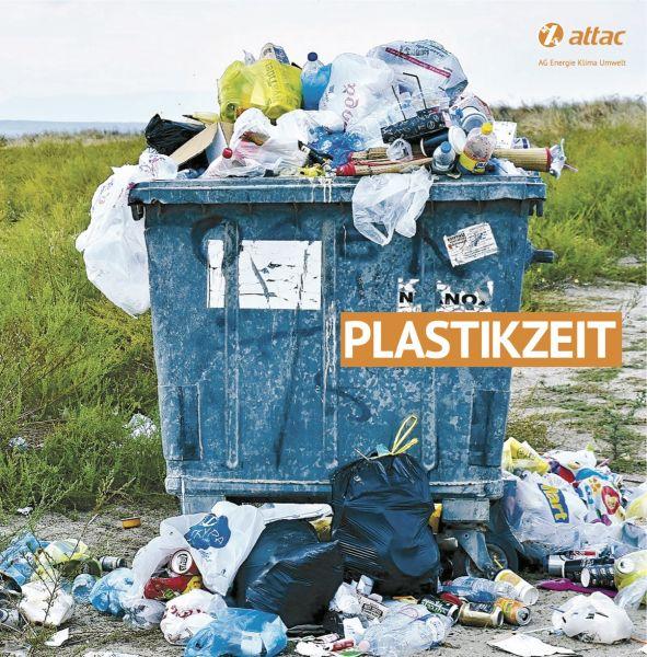 """Faltblatt """"Plastikzeit"""""""