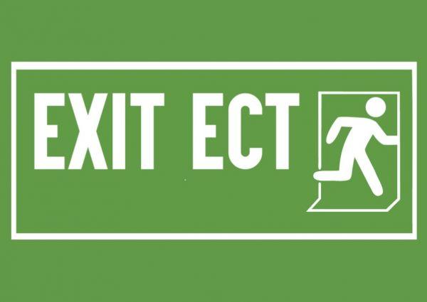 Postkarte: Exit ECT (Energiechartavertrag)