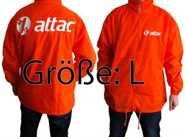Attac-Aktionsjacke Größe L