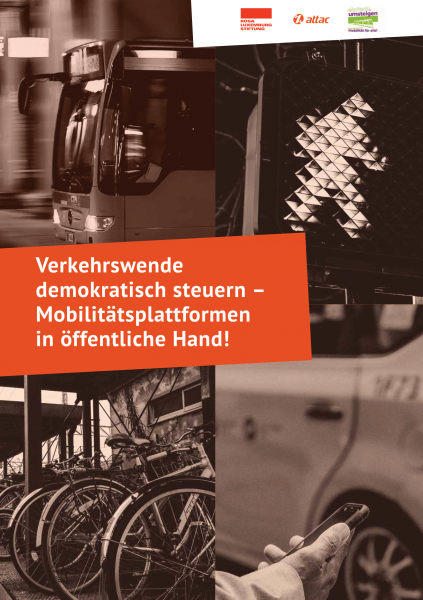Broschüre: Verkehrswende demokratisch steuern